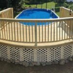 Cannonball! New pool Deck built to beat the heat in Washington, NJ.