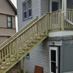 Do you have a Home or Property with an out of Code and Unsafe Deck, Porch or Steps? Here is a project where we built a new back porch and steps bringing them up to code and safe for use in Phillipsburg, NJ.