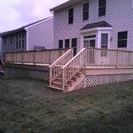 New Deck Installation in Hackettstown, NJ