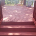 Before and After Deck Staining in Sparta NJ
