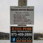 Bulkhead Replacement at Lake Mohawk Gahonjonton Beach