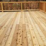 New Cedar Deck and Sliding Door in Lake Hopatcong, NJ