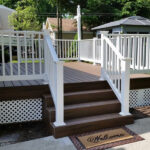 Trex Deck with Wolf Railing System in Hopatcong, NJ