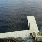 Dock and Exterior Stairs in Lake Hopatcong