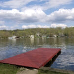 Dock Staining Project in Lake Hopatcong, NJ