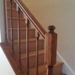 Indoor Handrail Staining in Somerville NJ