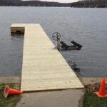 PT Wood Dock in Lake Hopatcong, NJ