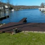 Dock Staining in Lake Hopatcong, NJ