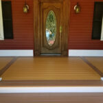 Front Porch Stained in Four Colors in Stewartsville, NJ
