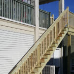 Deck Stairs Replaced in Newton NJ