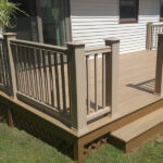 Steel Penn TimberTech Deck Adds Room to Entertain In Lake Hopatcong NJ