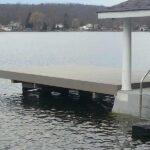 Dock and Seawall, Lake Hopatcong, NJ