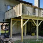 Pressure Treated Wooden Deck in Hampton, NJ