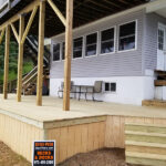 More Deck repairs plus new Railings all around in Hopatcong, NJ