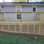 Another Wood Deck built just in time for summer in Hopatcong, NJ.