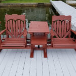 Deck, Dock, Porch Pressure washed & Stained in Lake Hopatcong, NJ.