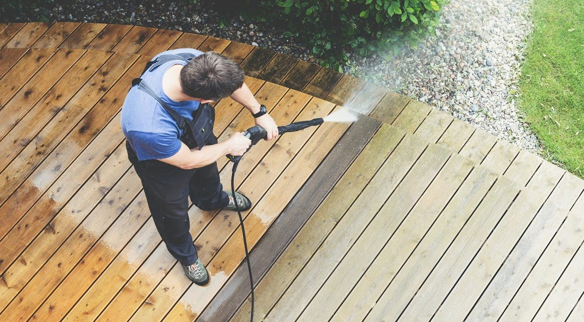 Pressure Wash Your NJ Home-In Spring or Fall